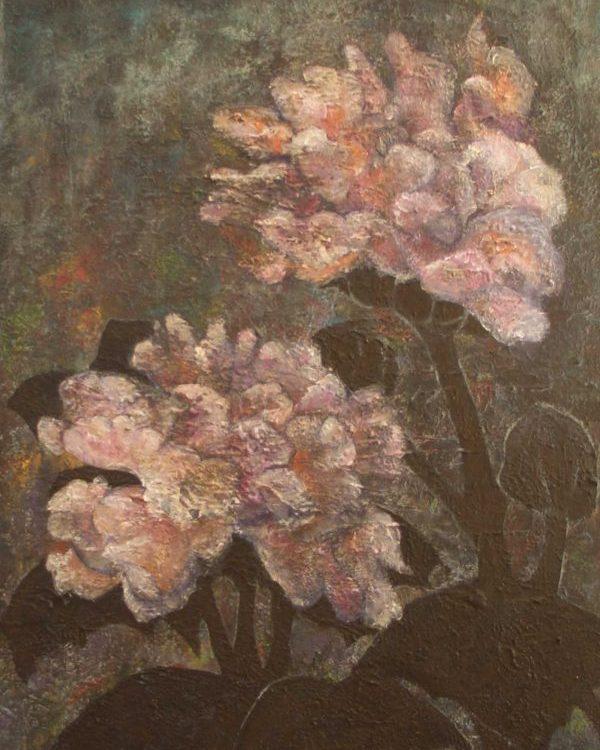 Maler Dr. Jürgen Haupt - Zwei Blüten