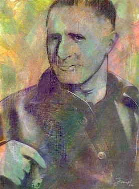 Porträt Bertolt Brecht